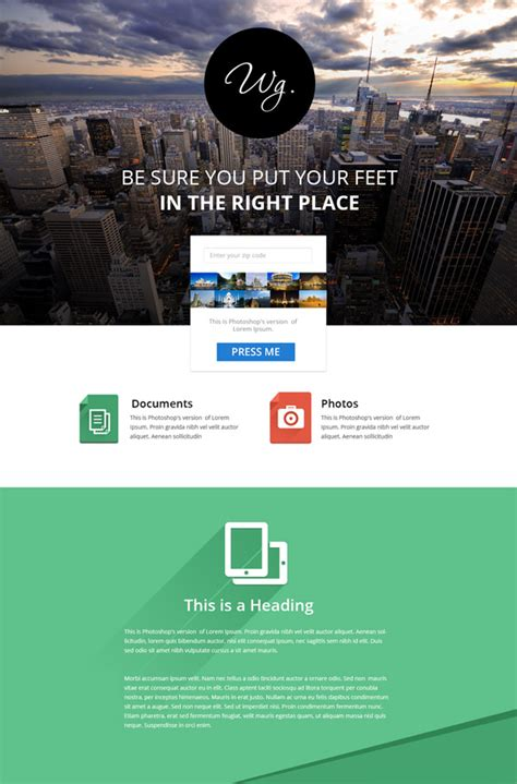 20 Free High Quality Psd Website Templates Hongkiat Psd Website Templates Free 2017