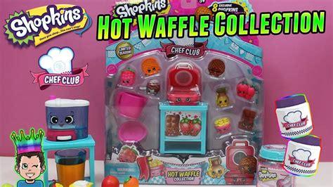 Shopkins Season 6 Chef Club Emco Littlest Pet Shop Hasbro shopkins chef club waffle collection exclusive new