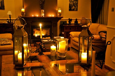 Candles In Living Room by How To Make Your Student House The Nicest Cheap D 233 Cor