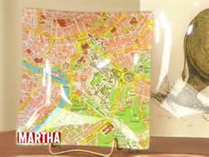 decoupage martha stewart decoupage map tray crafts how to s and ideas
