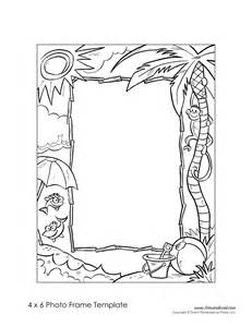 free printable picture frame templates tim de vall comics printables for