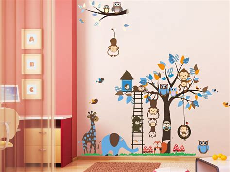 17 best images about home decor animal wall art on pinterest new design forest animal wall stickers tree wall stickers