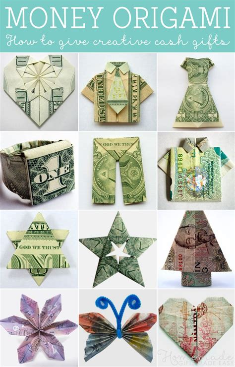 Money Origami Wedding Dress - money origami tutorials how to give creative gifts
