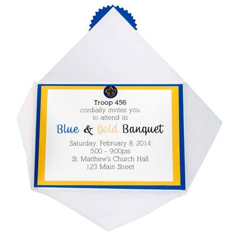 blue and gold program template blue and gold invitation