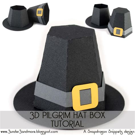 How To Make A Paper Pilgrim Hat - 3 3 and more october 2012