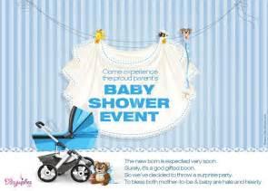 baby shower invitation card sle invitation ideas