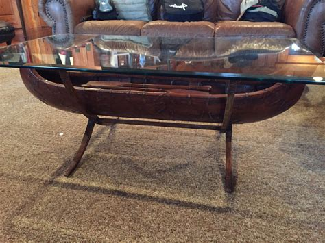 canoe coffee table furniture roy home design