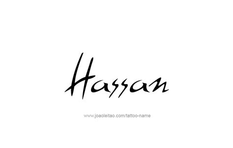 tattoo name hassan hassan name tattoo designs