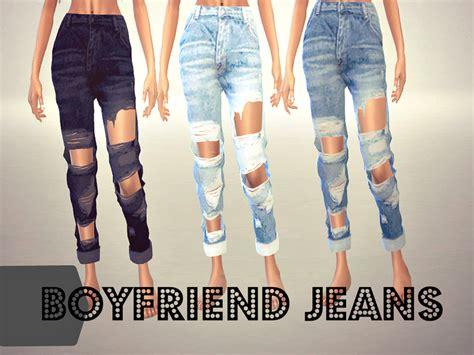 sims 4 cc boyfriend jeans sims4sisters boyfriend jeans mesh needed