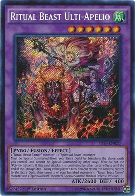 Kartu Yugioh Ritual Beast Ulti Cannahawk Secret 1 spiritual beast tamer winda card analysis ygo amino