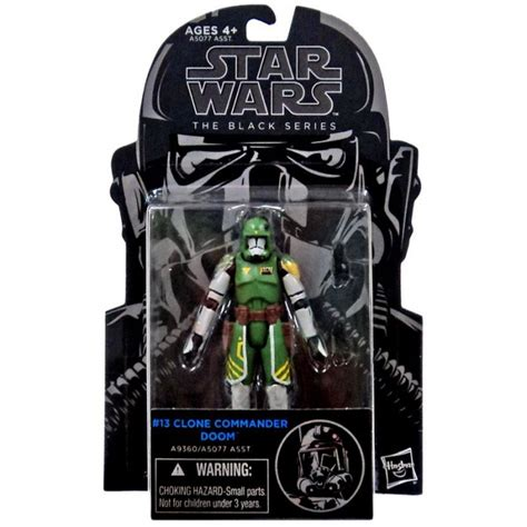 Wars Clone Commander Doom Black Series wars the black series 09 clone commander doom