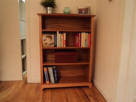 White Oak Bookcase Traditional Bookcases Other Metro White Oak Bookcase