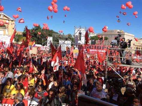 ufficio vertenze cgil roma al via la grande manifestazione della cgil a roma la