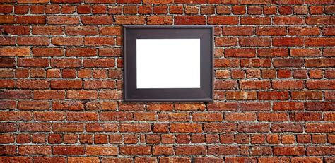 how to hang a picture on a brick wall how to hang a picture on a brick wall how to hang a