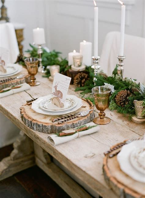 elegant table 17 best ideas about rustic table settings on pinterest