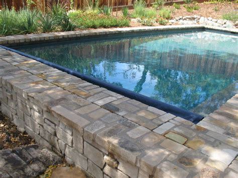 very nice pool company lafayette ca swimming pool and spa with flagstone patio traditional