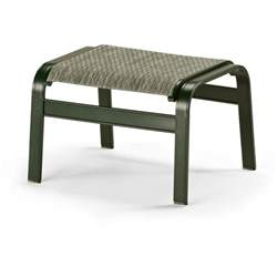 Outdoor Patio Chairs With Ottomans Telescope Casual Primera Sling Patio Ottoman Ultimate Patio