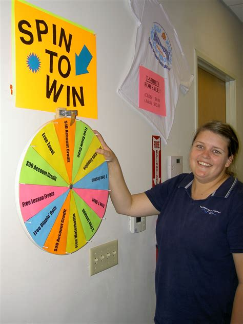 Instant Win Spin The Wheel - refer a friend and win instant prizes spin to win is back waterworks aquatics