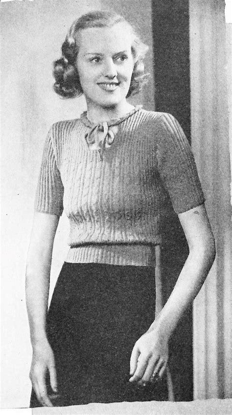 free knitting pattern jumper uk free vintage knitting pattern bestway knitting 1938 a