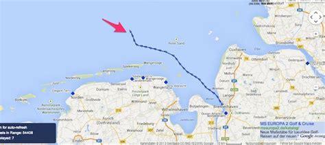 wann bucht deutsche bank getaway wegen xaver aus bremerhaven ausgelaufen