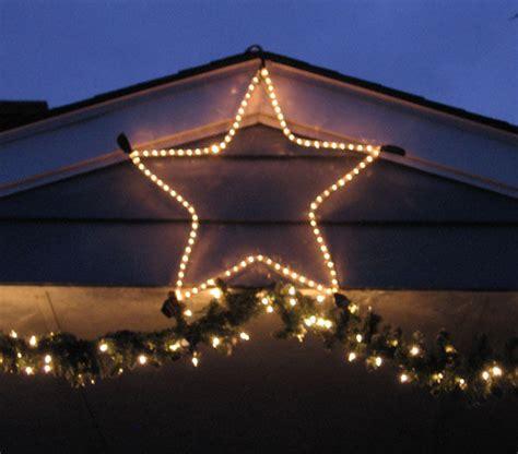 Image Gallery Outdoor Star Lights