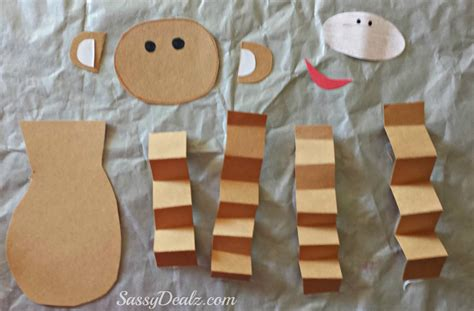 monkey craft s day monkey craft for crafty morning