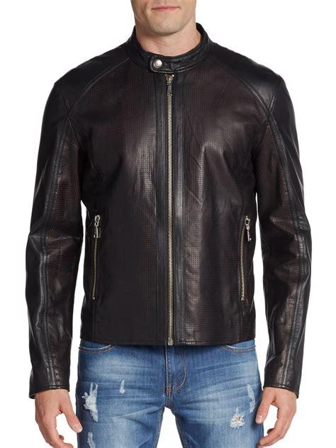 Jacket Ver Sace versace leather www imgkid the image kid
