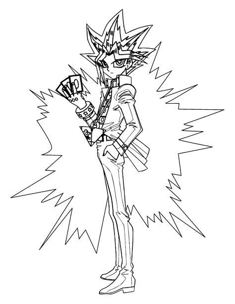 coloring page yu gi oh coloring page yu gi oh coloring pages 40