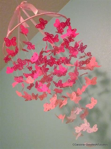 How To Make A Paper Butterfly Chandelier - paper butterfly chandelier creativity takes courage