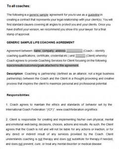 coaching contracts templates coaching contract template 3 free word pdf documents
