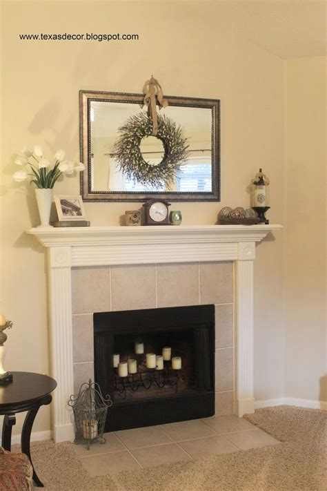 25 best ideas about mirror above fireplace on