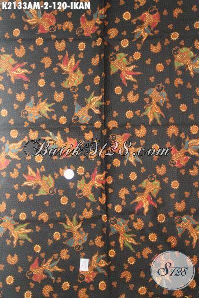 Batik Tulis Pria Motif Ikan kain batik kombinasi tulis motif ikan trend terbaru batik