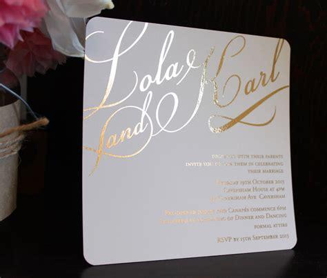 wedding invitations gold foil gold foil wedding invitation wedding ideas and funness