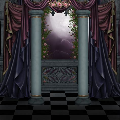 premade curtains curtains bg by collect and creat on deviantart