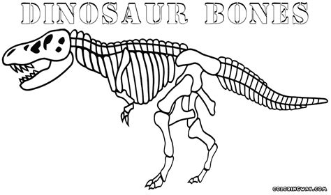 coloring pages of dinosaur bones dinosaur bones coloring pages coloring pages to download