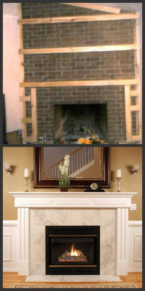 update your fireplace fireplace makeovers