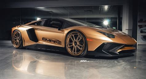 lamborghini aventador sv roadster gold gold lamborghini aventador sv roadster will excite and confuse carscoops