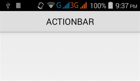 android center text set actionbar title text position gravity align in android android exles