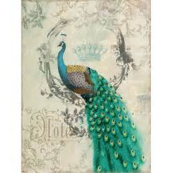 Peacocks Home Decor Yosemite Home Decor Peacock Poise Ii Wall 24w X 35h In Wall At Hayneedle