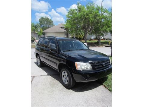 car owners manuals for sale 2003 toyota highlander electronic toll collection 2003 toyota highlander for sale by owner in ta fl 33694