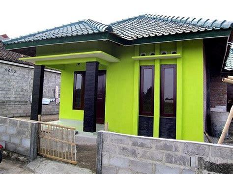 warna cat rumah minimalis hijau