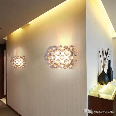 Foscarini Caboche Chandelier Cheap Led Wall Lights Image Collections Home And