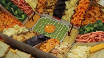 how to make a snack stadium for super bowl youtube