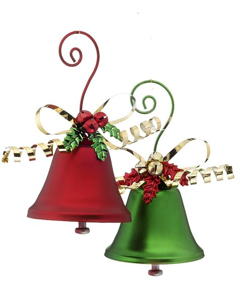 christmas decorations bells holliday decorations