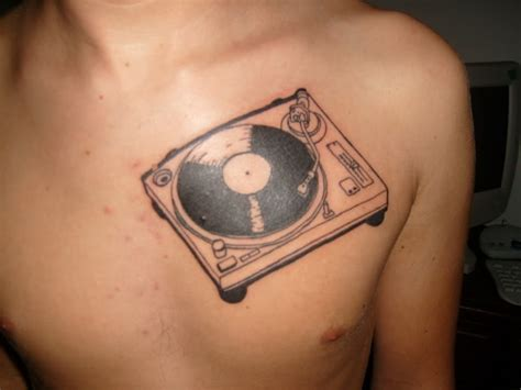 turntable tattoo the wonderful world of turntable tattoos complex