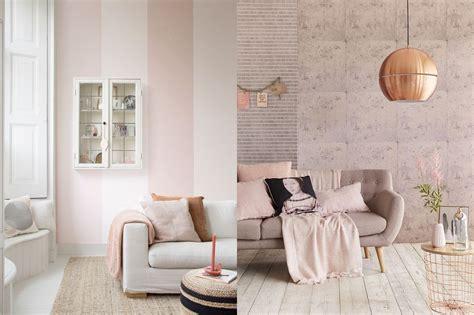 woonkamer roze kleurinspiratie roze