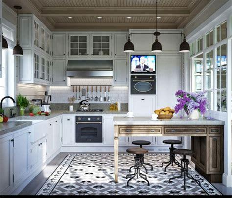 provence kitchen design d 233 co appartement de style proven 231 al 2 exemples inspirants