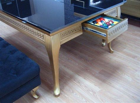 Pool Table Conference Table Transform A Regular Dining Table Into A Pool Table Goodiy