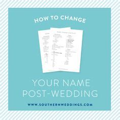 Wedding Checklist Name Change by 1000 Ideas About Name Change Checklist On