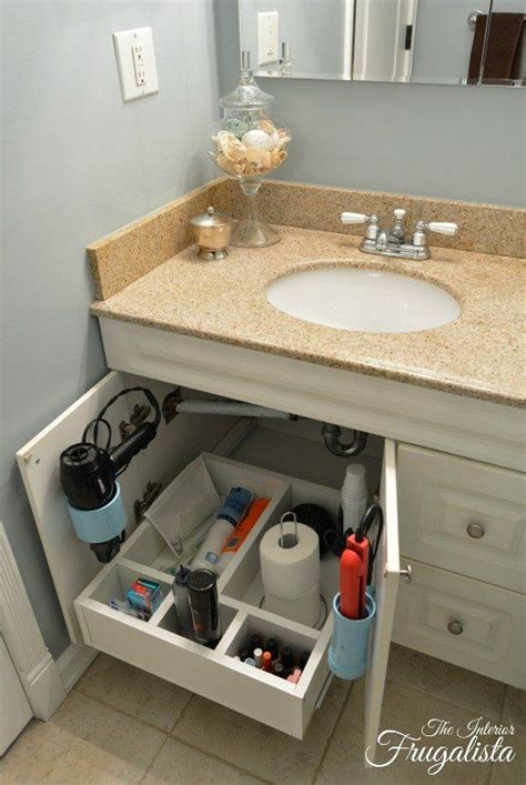 under cabinet shelving bathroom make use of under storage space with this diy sliding